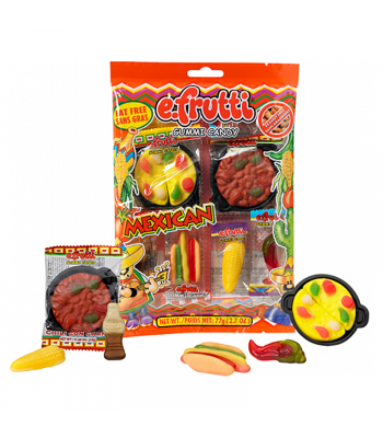 E.Frutti Mexican Dinner Peg Bag - 2.7oz (77g) Sweets and Candy E.Frutti