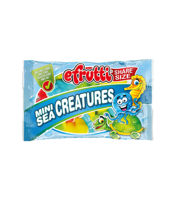 E.Frutti Mini Sea Creatures Gummies Share Size - 1.4oz (40g) Sweets and Candy E.Frutti