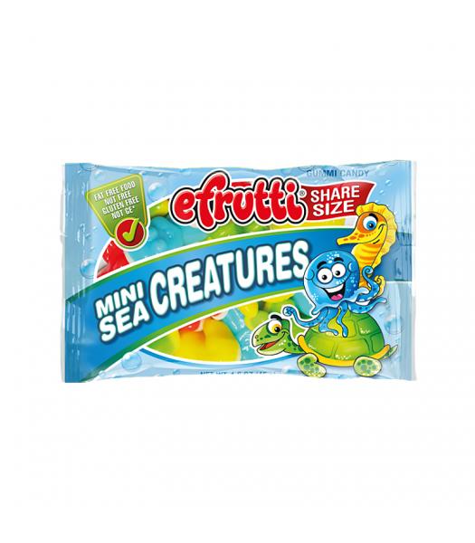 E.Frutti Mini Sea Creatures Gummies Share Size - 1.4oz (40g) Sweets and Candy E.Frutti