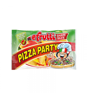 E.Frutti Pizza Party Slices Gummies Share Size - 1.4oz (40g) Sweets and Candy E.Frutti