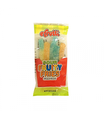 E.frutti Sour Fruity Fries - 0.55oz (15.6g) Sweets and Candy