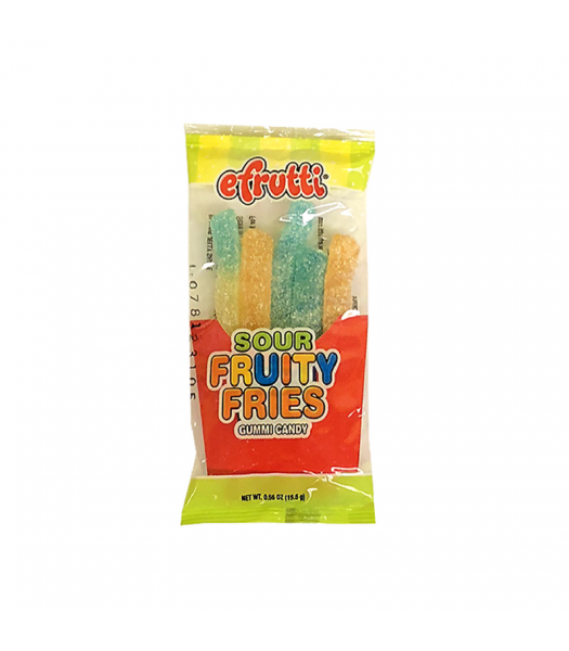 E.frutti Sour Fruity Fries - 0.55oz (15.6g) Sweets and Candy E.Frutti