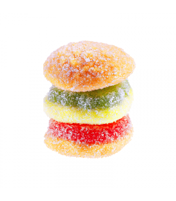 E.Frutti Gummi Candy Sour Mini Burger 0.32oz (9g) Sweets and Candy