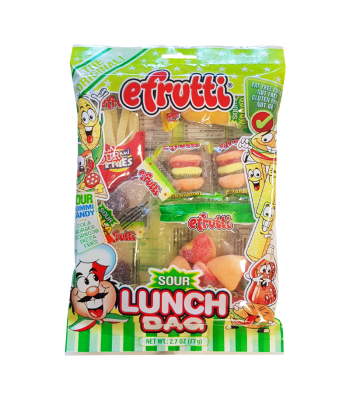 E.Frutti Sour Lunch Bag - 2.7oz (77g) Sweets and Candy E.Frutti