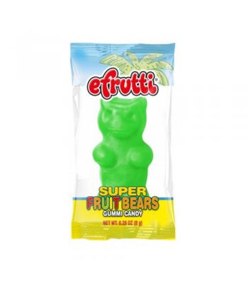 E.Frutti Gummi Candy Super Fruit Bears 0.28oz (8g) Soft Candy