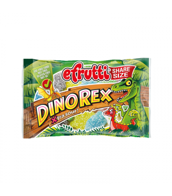 E.Frutti Xtra Sour Dino Rex Gummies Share Size - 1.8oz (51g) Sweets and Candy E.Frutti