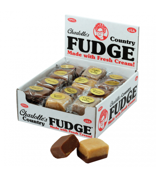 Espeez Charlotte's Country Fudge 1.25oz (35g) - SINGLE - Assorted Sweets and Candy Espeez