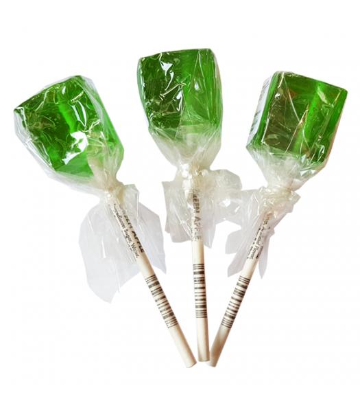 Espeez - Green Apple Cube Lollipop SINGLE 0.74oz (21g) Sweets and Candy Espeez