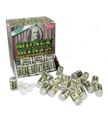 Espeez - Money Mints Roll 0.405oz (11.5g) - SINGLE Hard Candy