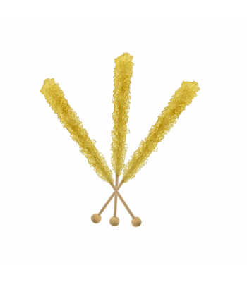 Espeez - Rock Candy on a Stick - Gold - SINGLE 0.8oz (22g) Lollipops Espeez