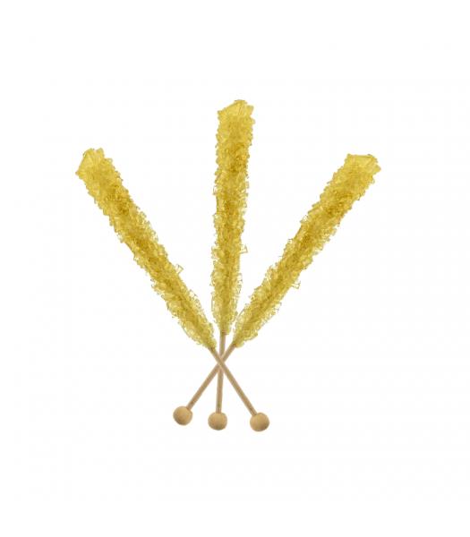Espeez - Rock Candy on a Stick - Gold - SINGLE 0.8oz (22g) Lollipops Espeez