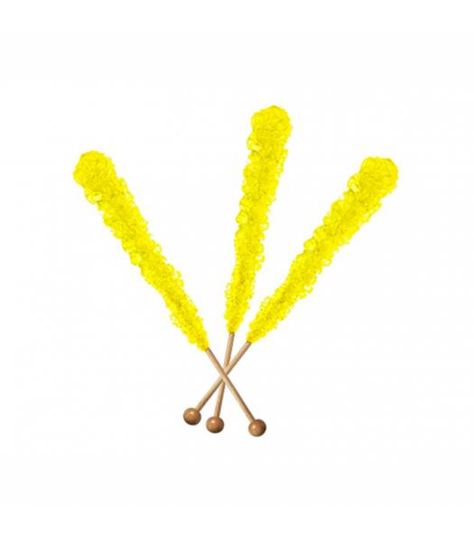 Espeez - Rock Candy on a Stick - Banana (Yellow) - SINGLE 0.8oz (22g) Lollipops
