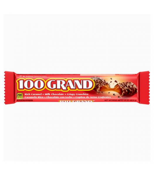 100 Grand Chocolate Bar - 1.5oz (42.5g) Sweets and Candy Ferrara
