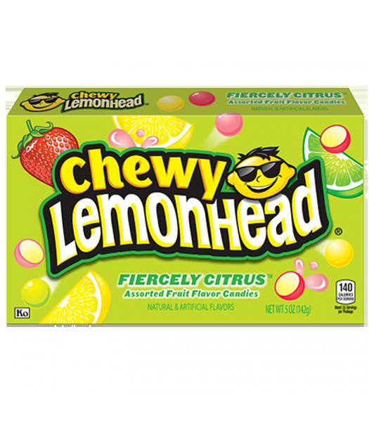 Chewy Lemonhead Fiercely Citrus 5oz (142g)  Soft Candy Ferrara