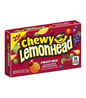 Chewy Lemonhead - Fruit Mix - 0.8oz (23g) Soft Candy Ferrara