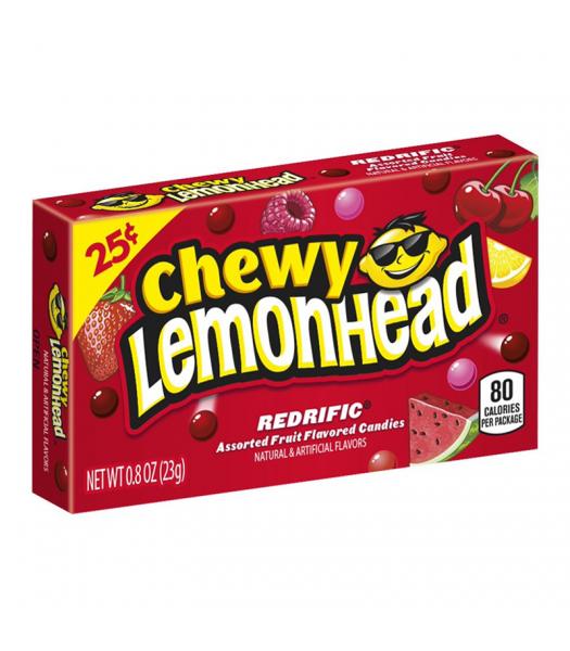 Chewy Lemonhead - Redrific - 0.8oz (23g) Soft Candy Ferrara