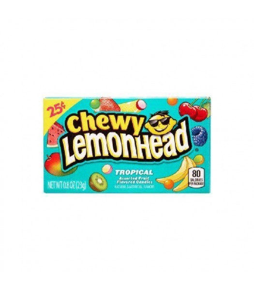 Chewy Lemonhead Tropical - 0.8oz (23g) Sweets and Candy Ferrara