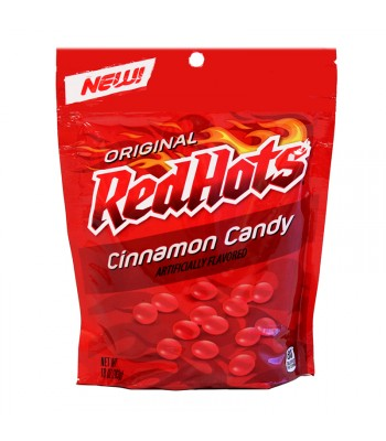Red Hots Stand Up Bag - 10oz (283g) Sweets and Candy Ferrara