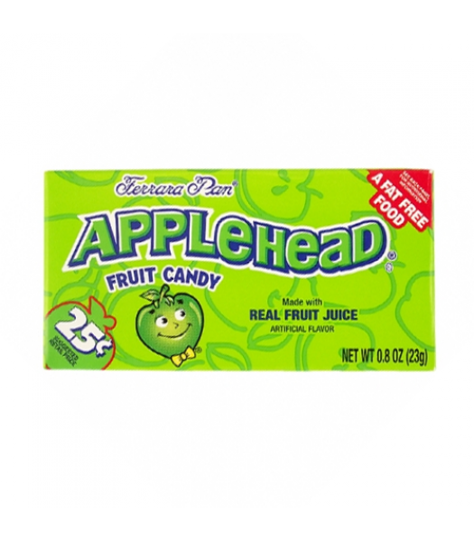 Ferrara Pan Applehead Candy - 0.8oz (23g) Hard Candy Ferrara