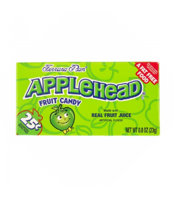 Clearance Special - Ferrara Pan Applehead Candy - 0.8oz (23g) **DAMAGED** Clearance Zone