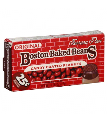 Ferrara Pan PeanutHead Boston Baked Beans 0.75oz (21g) Hard Candy Ferrara