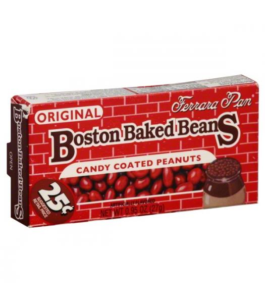 Ferrara Pan PeanutHead Boston Baked Beans 0.75oz (21g) Hard Candy Ferrara