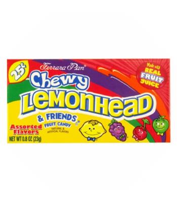 Ferrara Pan Chewy Lemonhead & Friends 0.9oz (26g)  Soft Candy Ferrara