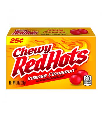 Chewy RedHots Intense Cinnamon 0.8oz (23g) Soft Candy Ferrara