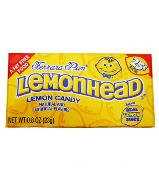 Ferrara Pan Lemonhead 23g  Hard Candy Ferrara