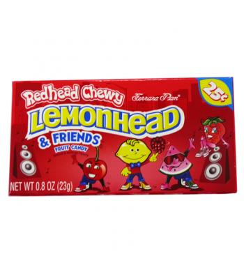 Ferrara Pan Redrific Chewy Lemonheads 0.8oz (23g)  Soft Candy Ferrara