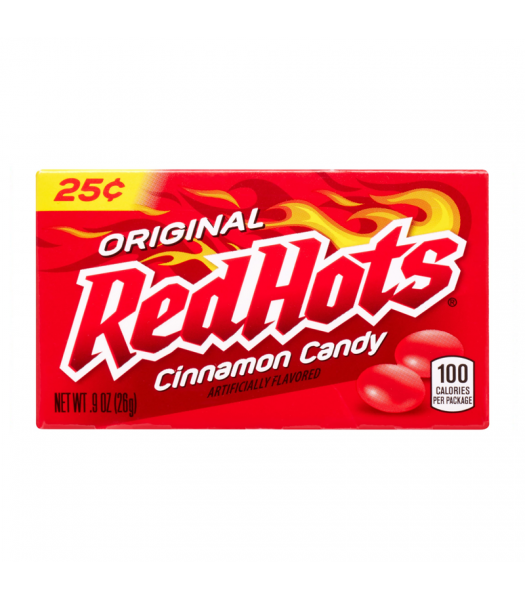 Red Hots Cinnamon Candy - 0.9oz (26g) Sweets and Candy Ferrara