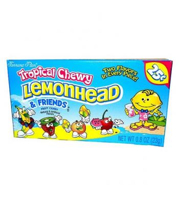 Ferrara Pan Tropical Chewy Lemonhead & Friends 0.9oz 26g  Soft Candy Ferrara