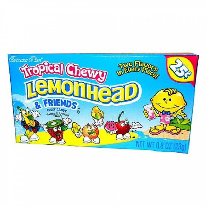 Chewy Lemonhead & Friends - Tropical - 0 9oz 26g