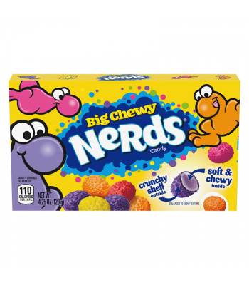 Nerds Big Chewy Theatre Box - 4.25oz (120.4g) Sweets and Candy Ferrara