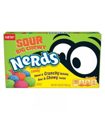 Nerds Sour Big Chewy Theatre Box - 4.25oz (120.4g) Sweets and Candy Ferrara