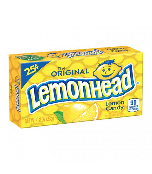 The Original Lemonhead Lemon Candy - 0.8oz (23g) Hard Candy Ferrara