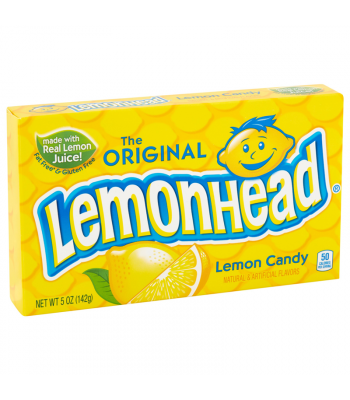 Lemonhead - Theatre Box - 5oz (142g) Hard Candy