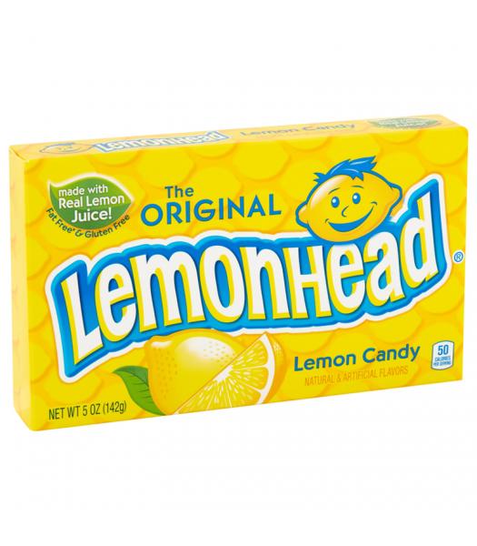 Lemonhead - Theatre Box - 5oz (142g) Hard Candy