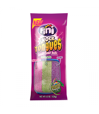 Fini Shock Tongues Peg Bag 4.5oz (128g) Sweets and Candy Fini