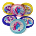 Fort Knox Unicorns Milk Chocolate Coins Stickers 1.47oz (41.6g) Sweets and Candy