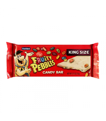 Frankford Fruity Pebbles White Chocolate Bar - 2.75oz (78g) Sweets and Candy Frankford