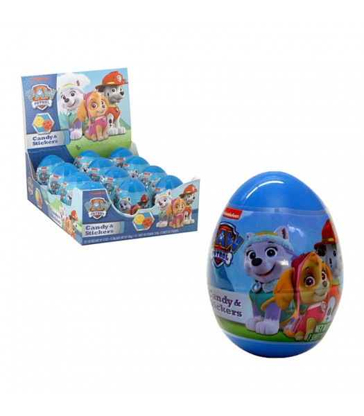 Paw Patrol Plastic Surprise Egg - 1oz (28g) Sweets and Candy Frankford