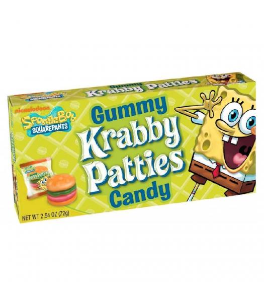 Spongebob Squarepants Gummy Krabby Patties - 2.54oz (72g) Sweets and Candy