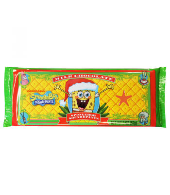 SpongeBob Milk Chocolate Bar 2oz (57g) Chocolate, Bars & Treats Frankford