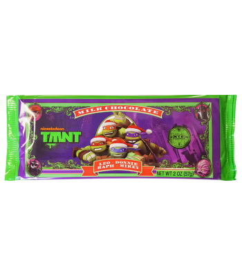 TMNT Milk Chocolate Bar 2oz (57g) Sweets and Candy Frankford