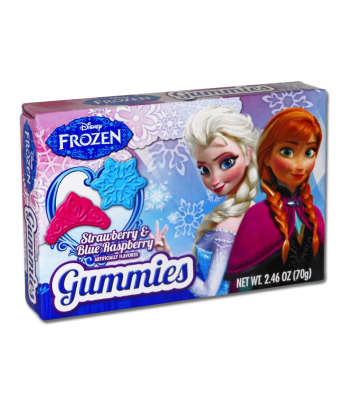 Clearance Special - Disney's Frozen Gummy Hearts Theatre Box 2.46oz (70g) (Best Before: 17 December 2016) Clearance Zone