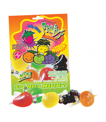 Fruity's Ju-C Jelly Fruits Bag - 12.6oz (360g) Sweets and Candy
