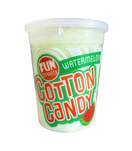 Fun Sweets Watermelon Cotton Candy - 2oz (56g) Sweets and Candy