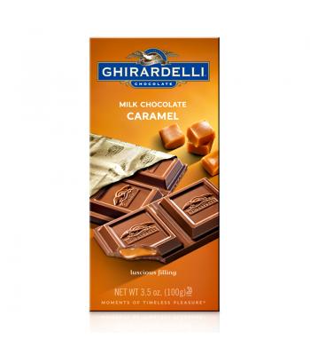 Ghirardelli Chocolate - Milk Chocolate Caramel Bar - 3.5oz (100g) Chocolate, Bars & Treats