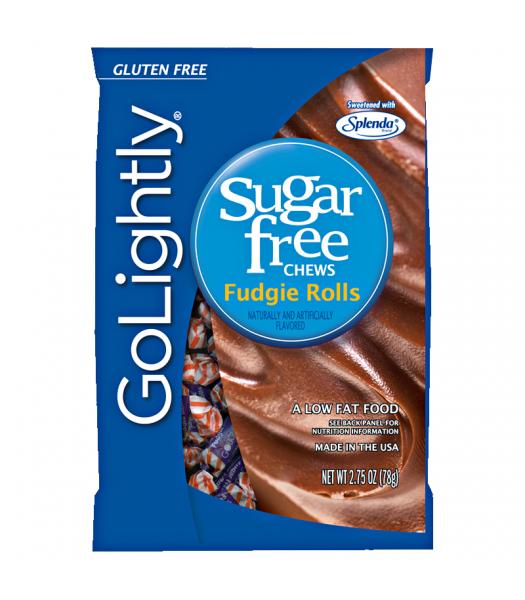GoLightly - Fudgie Rolls Sugar Free Chews - 2.75oz (78g) Sugar Free